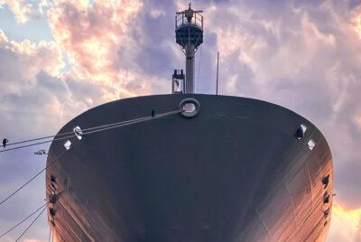 USNS Gordon Docked in Baltimore Harbor
